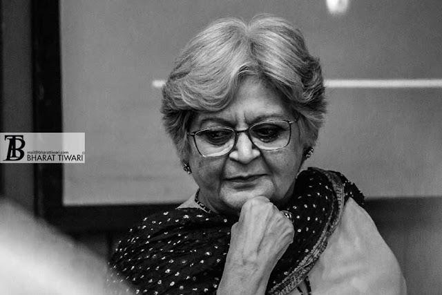 इस सवाल से तो मैं भी परेशान हूँ  — सलीमा हाशमी Salima Hashmi and Sadanand Menon in conversation with Ashok Vajpeyi