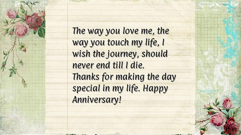 Letter To My Husband On Our First Wedding Anniversary