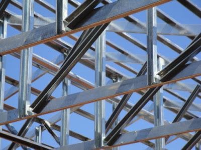 Estructuras de acero galvanizado liviano