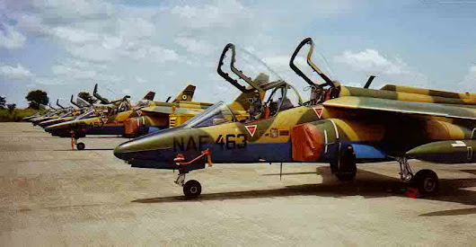 The Nigerian Air Force have received new systems and ammunitions