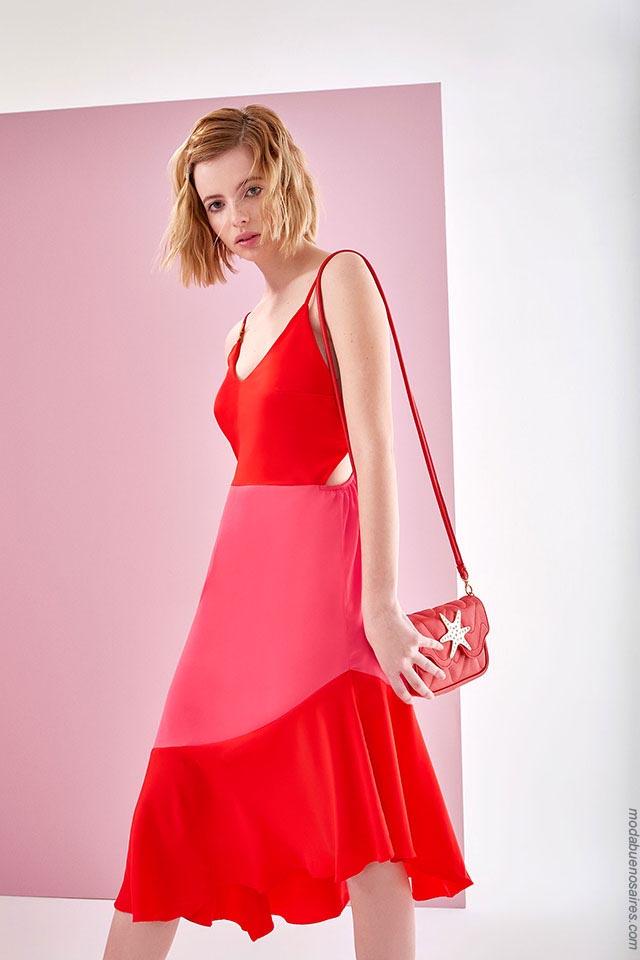 Vestidos primavera verano 2019. Ropa de mujer verano 2019 moda.