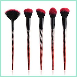Gradient Handle Brush Make Up 5 Set - OMHRCLRE