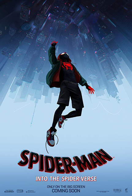 Spider-Man: Into the Spider-Verse 2018 movie poster Miles Morales Shameik Moore Jake Johnson