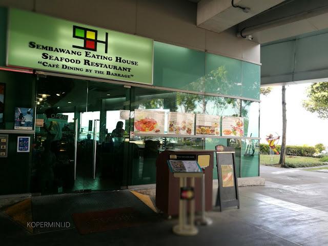 Restoran atau cafe di Marina Barrage