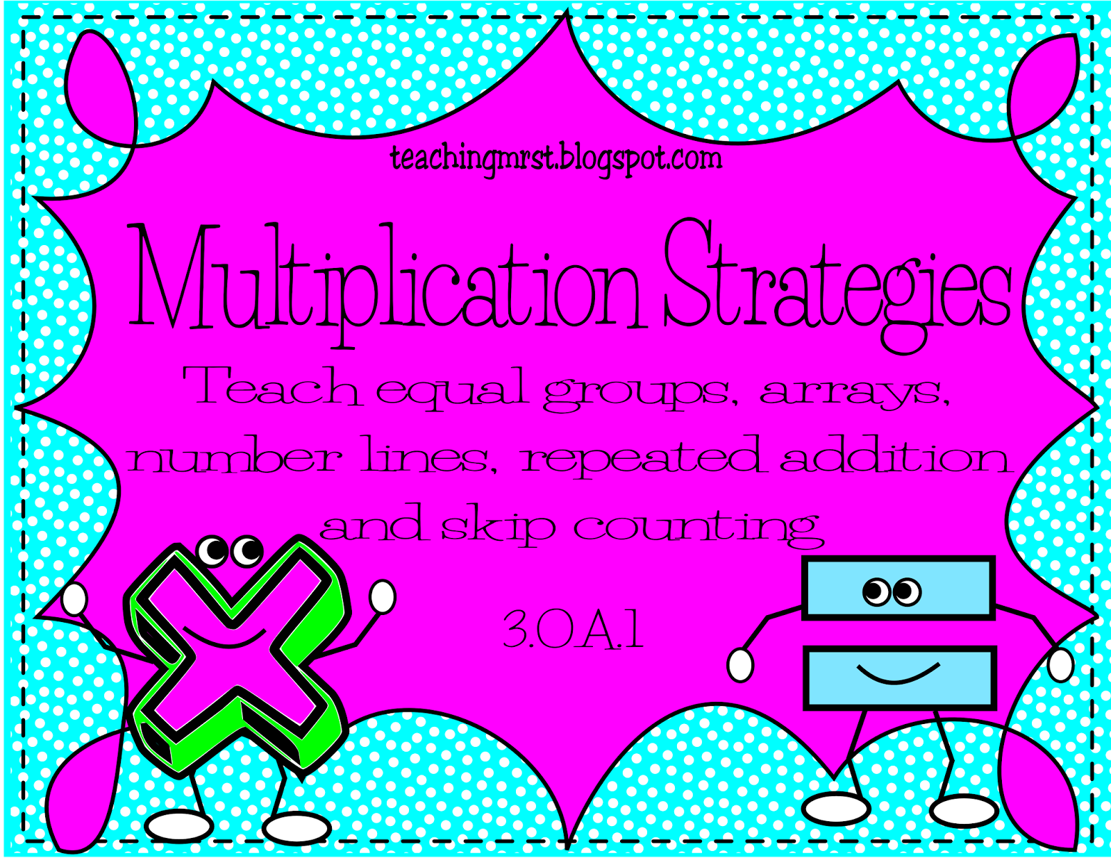 Teaching Mrs T Multiplication Strategies