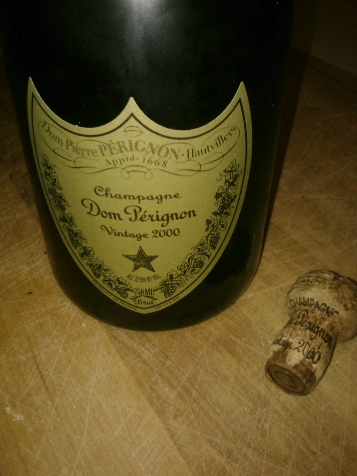 The Wine Cask Blog Dom Perignon Vintage 2000 Brut Champagne Review