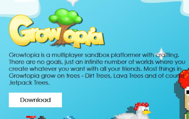 Download game Growtopia untuk PC update Terbaru