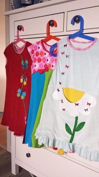 Kleidergalerie für den Winter
