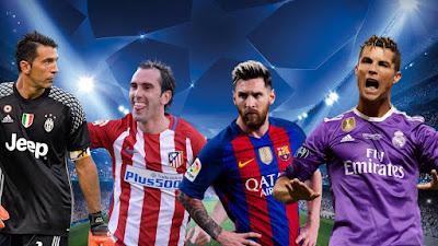 UEFA ideal team 2017
