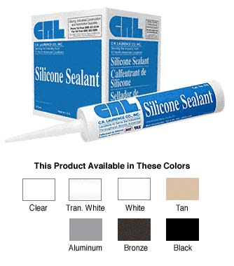 MILDEW RESISTANT CLEAR SILICONE SEALANT