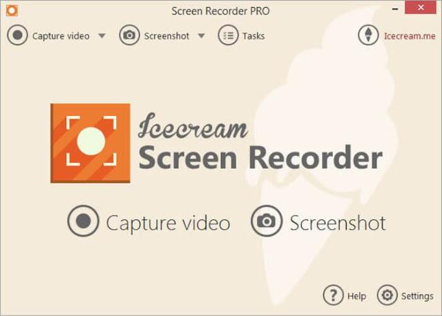 Icecream Screen Recorder برنامج تصوير الشاشه للكمبيوتر فيديو وصوت hd