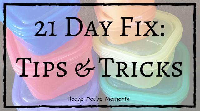 21 Day Fix: Tips & Tricks