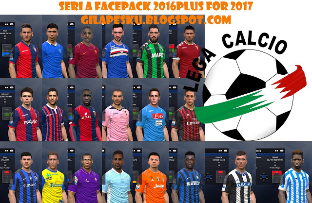 23b570eb4a2 PES 2016   PES 2017 Serie A Face-Pack Repacked