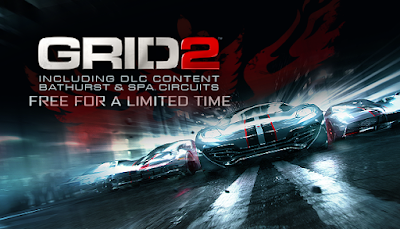 Free Steam Game - GRID 2 + Bathurst & Spa Circuits DLC