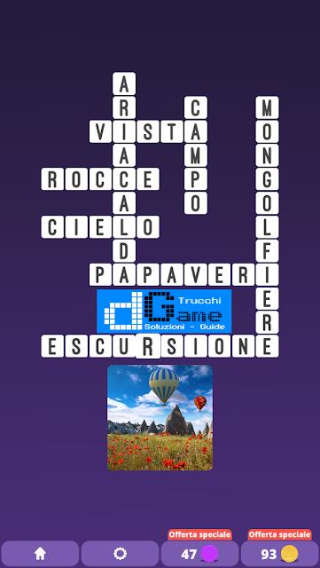 Soluzioni One Clue Crossword livello 26 schemi 8 (Cruciverba illustrato)  | Parole e foto