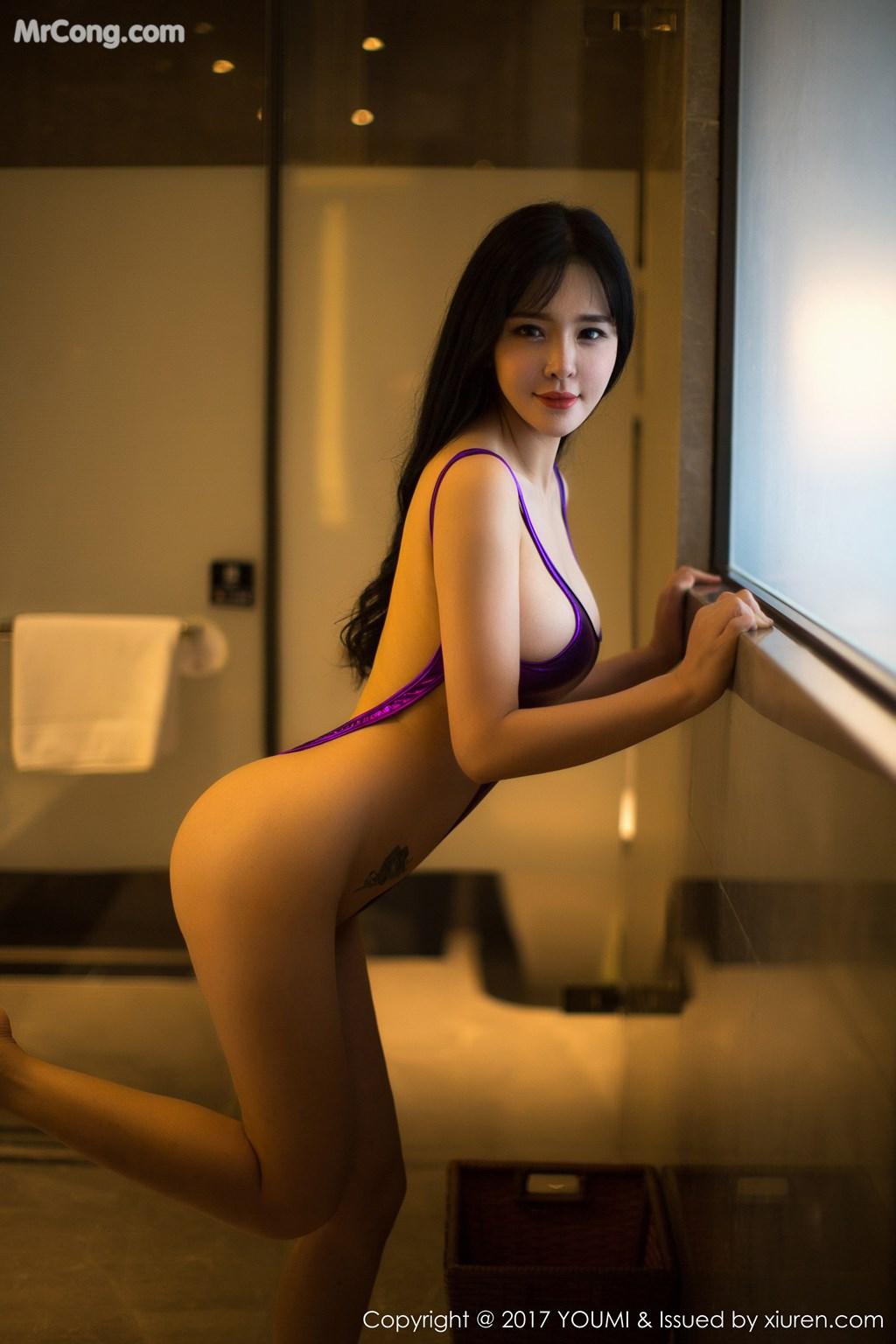 Image YouMi-Vol.064-Liu-Yu-Er-MrCong.com-033 in post YouMi Vol.064: Người mẫu Liu Yu Er (刘钰儿) (46 ảnh)