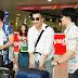 Lan Ngọc diện style sân bay cực chất, người hâm mộ bất ngờ với sự xuất hiện của dàn cast Chạy Đi Chờ Chi
