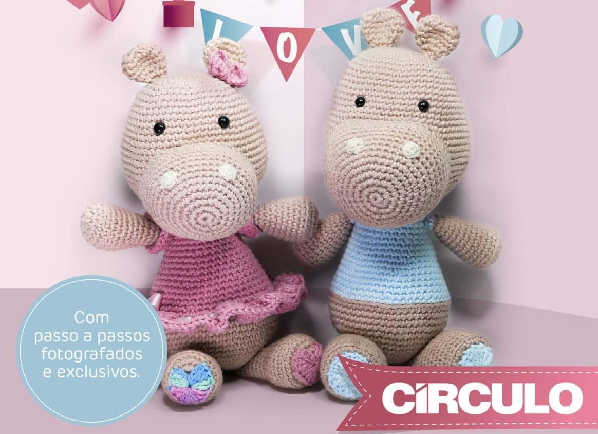 Peppa Pig amigurumi no Elo7 | Linha de Amor (EEC4B2) | 844x1164