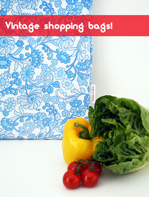 vintage shopping bag