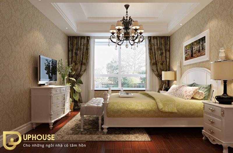 Phòng ngủ tân cổ điển 09