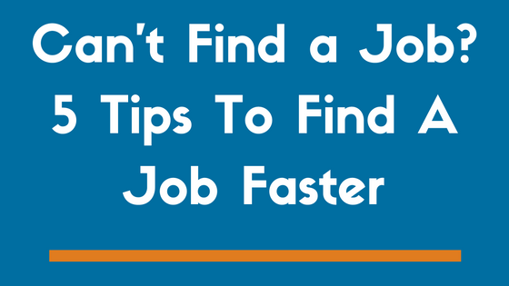 Five Ways to Improve Your Job Search