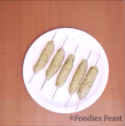 Potato Seekh Kebab