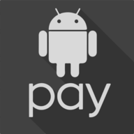 android pay shadow button