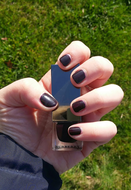 burberry elderberry nail polish