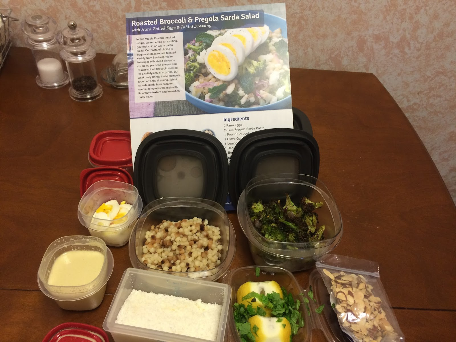 Blue apron broccoli - If You Are Making This Well Before You Want To Serve It Keep The Broccoli Mix Pasta Dressing Egg And Toppings All Separate Until You Are Ready To Eat