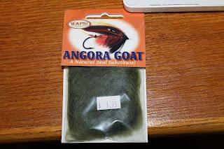 Olive Angora Goat Dubbin