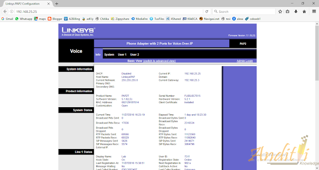 Konfigurasi Linksys PAP2-NA Phone Adapter-anditii.web.id