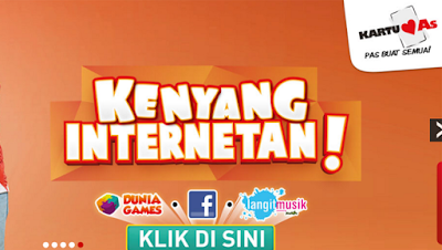 Paket Intenet Kartu As Kenyang Internetan 2016