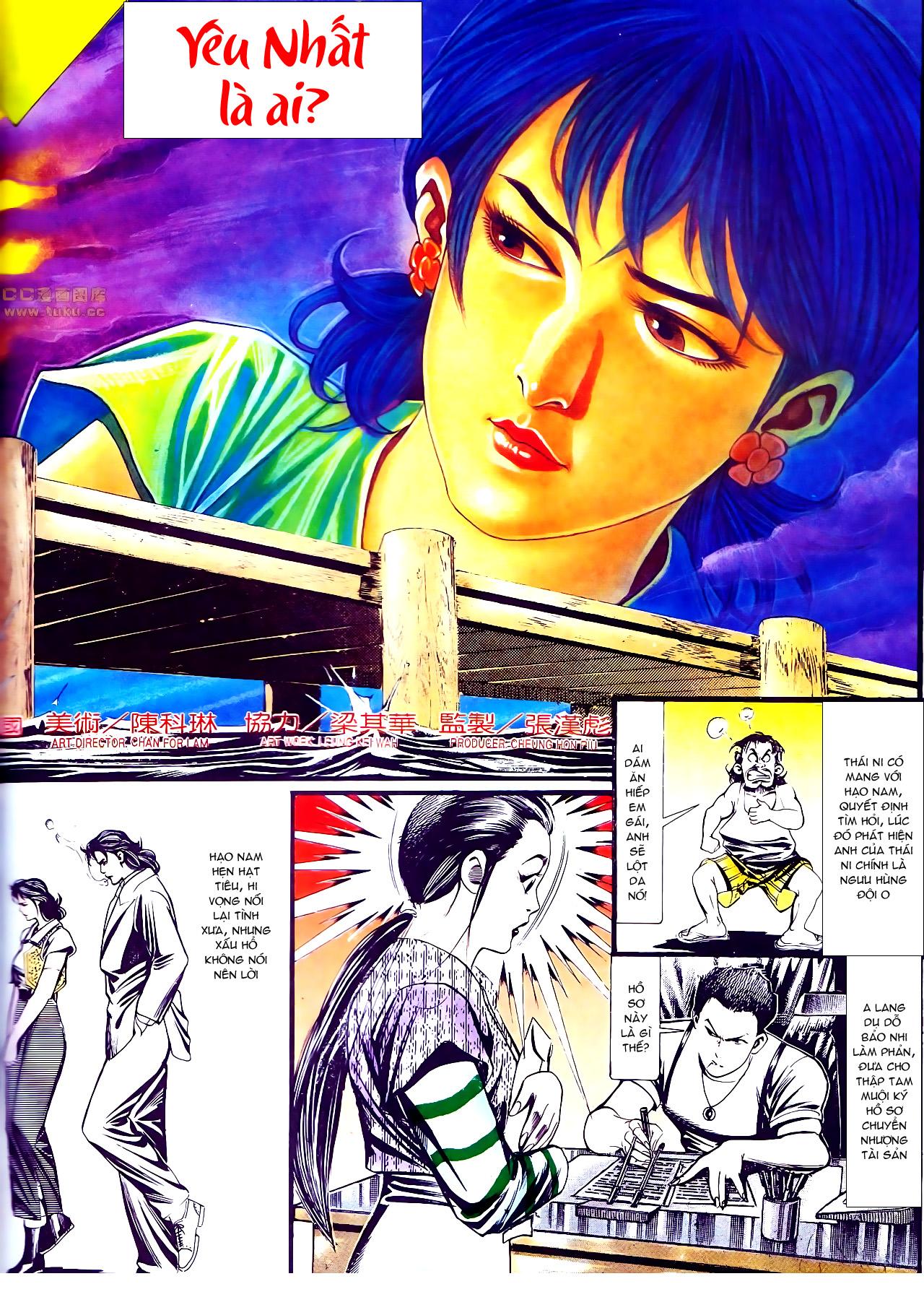 Người Trong Giang Hồ chapter 137: yêu nhất là ai trang 9