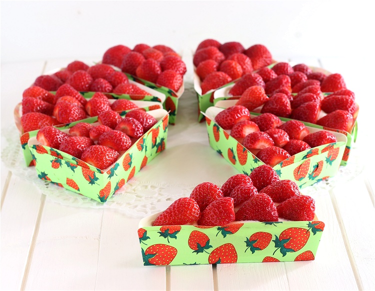 Erdbeer-Quark-Kuchen