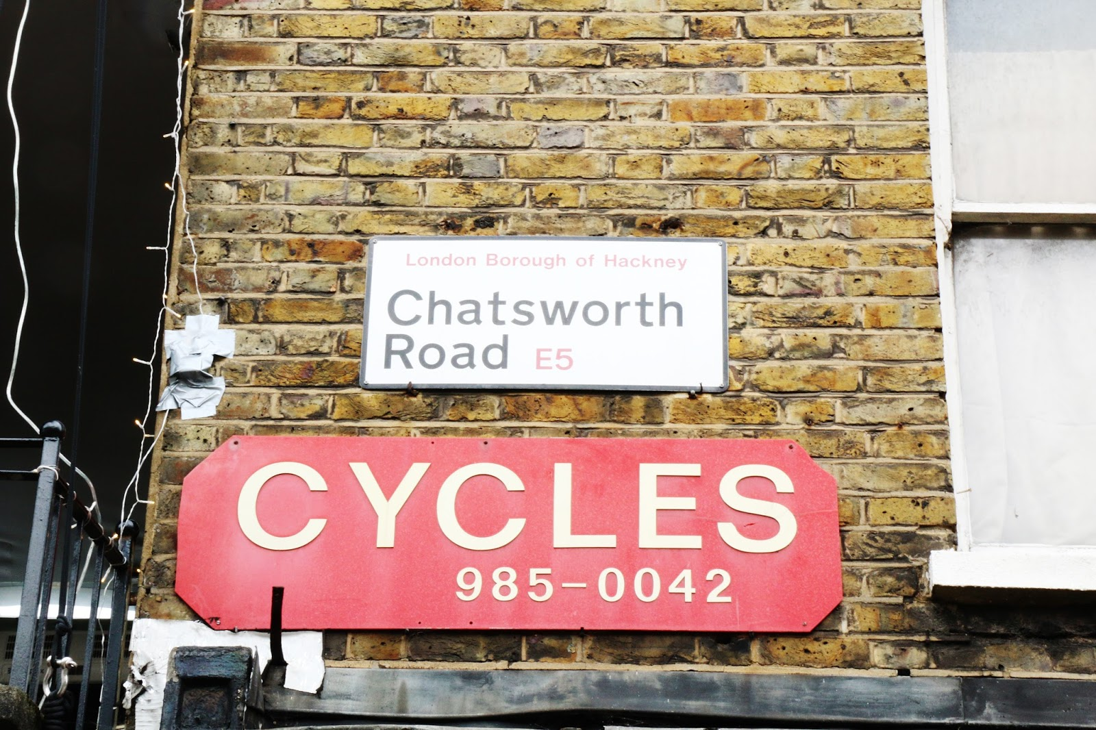 chatsworth road, homerton