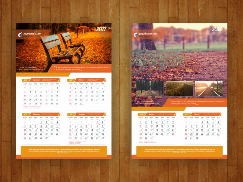 Fitur Template Kalender 2017