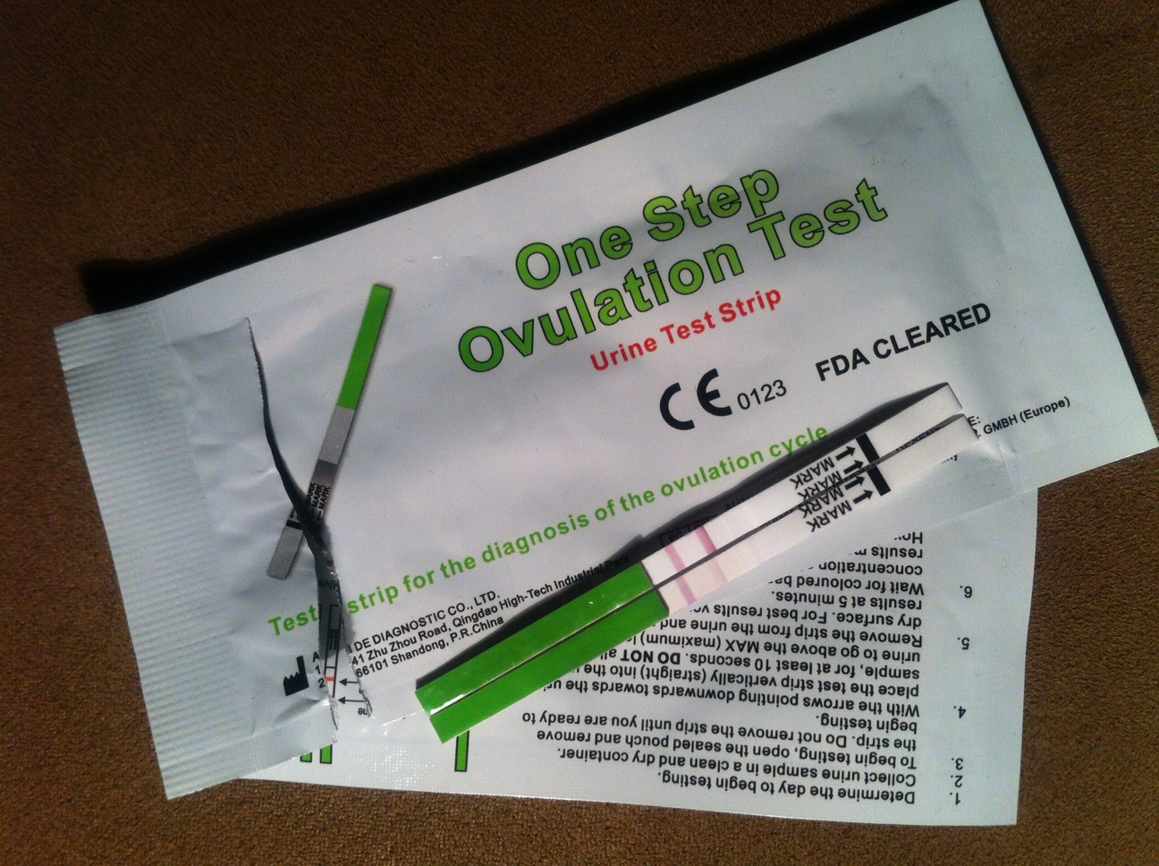 One Step Ovulationstest Erfahrungen