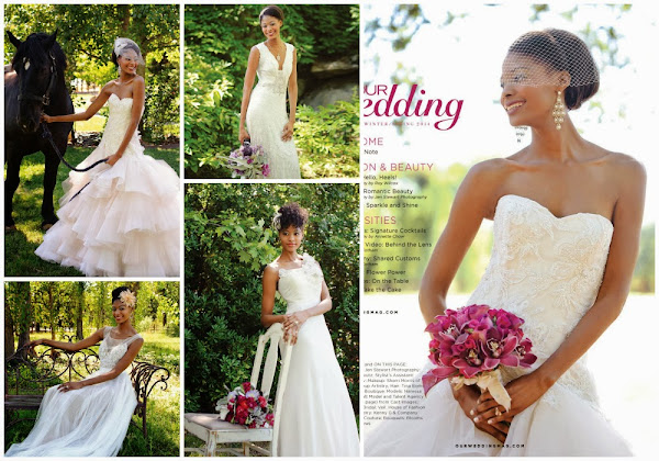 Asante Garrott - Cast Images - Our Wedding Magazine