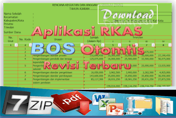 Download Aplikasi RKAS BOS Otomtis 2016/2017