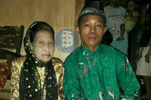 Boy, 16, marries 71-year-old lover after they threaten to commit suicide if their families stop them