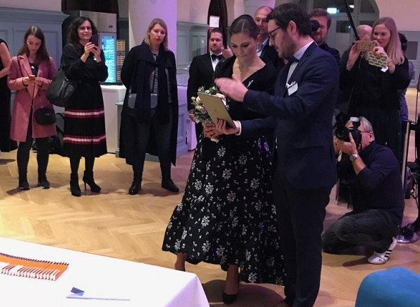 "Crown Princess Victoria presented 2017 ""Swedish Business Award"