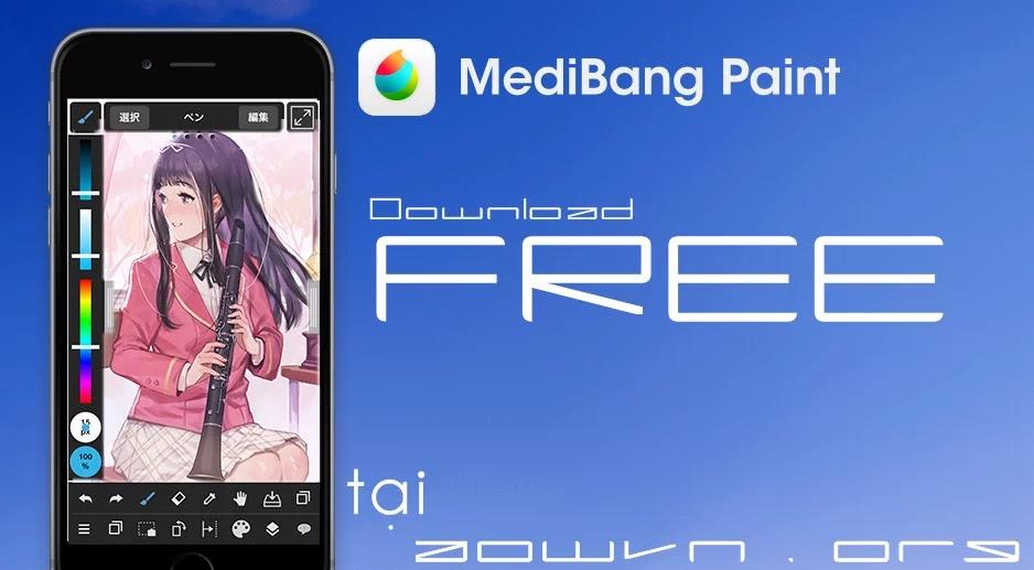 AowVN medibang%2B%25289%2529 - [ HOT ] MediBang Paint - Vẽ manga , anime mọi lúc mọi nơi trên Android , IOS và PC | Tiếng Việt