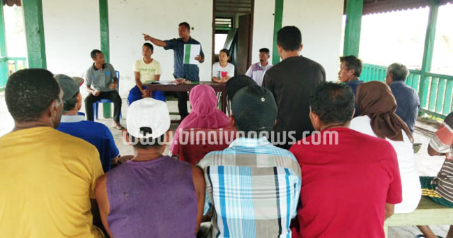 Tertib Administrasi Dana Desa, Payapo Umumkan Uang Ratusan Juta Kepada Warga