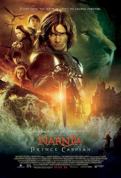 Poster of The Chronicles Of Narnia 2 (2008) 720p Hindi BRRip Dual Audio Full Movie