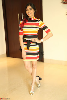 Adha Sharma in a Cute Colorful Jumpsuit Styled By Manasi Aggarwal Promoting movie Commando 2 (135).JPG