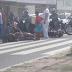 Acidente com feridos na avenida Tomáz Landim