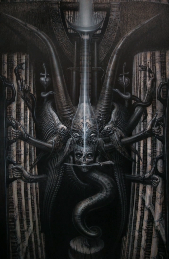Alien Explorations: HR Giger's The Spell III H.r. Giger Art Sexual