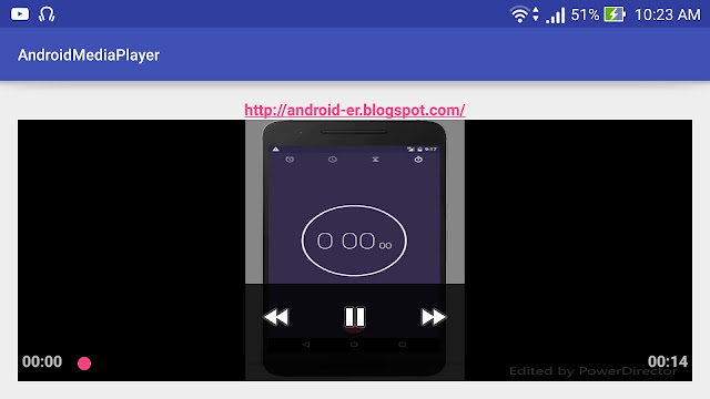Add Mediacontroller To Mediaplayer