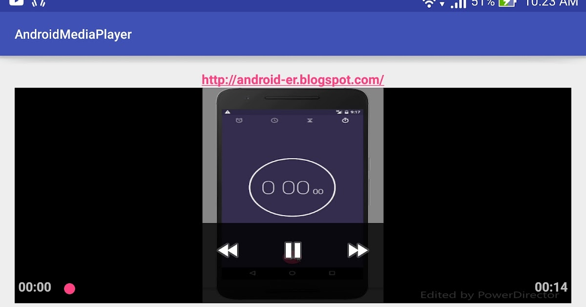 Android er add mediacontroller to mediaplayer - Er finestra android ...