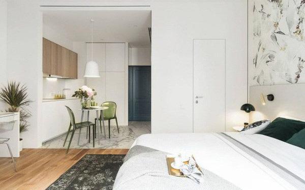 Chỉ 27m2 nhưng chủ nhà đã biến căn hộ của mình không thua kém chung cư cao cấp 12